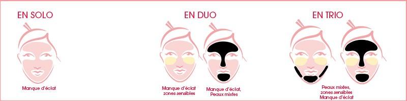 Masque Rose Granité 30ml